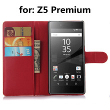 Неподдельный кожаный чехол для Sony Z5 Premium