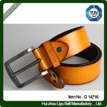 Handsome Boys Real Leather Beaded Belt With Pattern