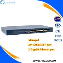 Gigabit commutable ethernet 24 ports