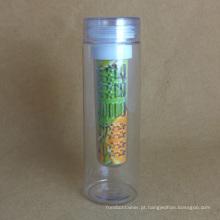 Garrafa de água do PC, garrafa de água do infusor de frutas