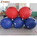 Rodillos de aire materiales respetuosos del medio ambiente vendedores calientes del material del PVC para la gimnasia
