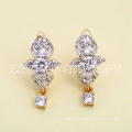 wholesalers women earings fashion shiny brazilian gold jewelry Need more information please contact us! Rhodium plated jewelry is your good pick