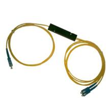 1 * 2 Fbt de Fibra Óptica Singlemode Fbt con paquete del ABS