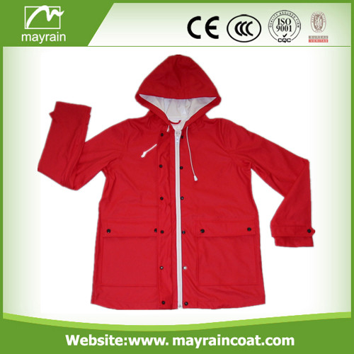 Ladies PU Raincoat on Sale