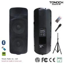 Dual 15 polegadas de plástico PA Speaker para modelo THR215UB
