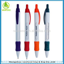 Advertising plastic message ball pen with 6 windows