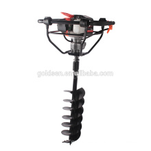 71cc 2400w Hand-Held Manual Fence Post Hole Digger Portable Hand Ground Drilling Machine