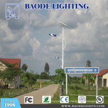 Luz de rua solar da turbina eólica do diodo emissor de luz de 7m Pólo 70W (BDTYN770-w)