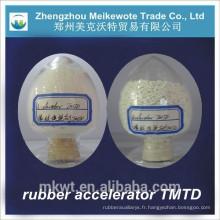 accélérateur de caoutchouc TMTD pour industrie du caoutchouc