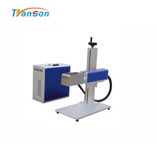 Mini máquina de gravação de metal a laser de fibra 3D
