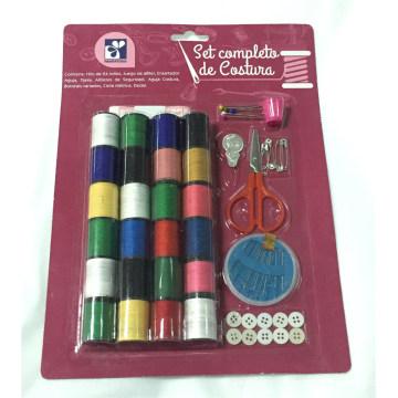 Kit de costura para uso de viaje familiar