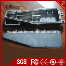 Carcasa de titanio y cubierta / mecanizado cnc piezas de titanio