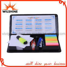 Top Sale PU Sticky Notepads with Calendar for Promotion (PN245)