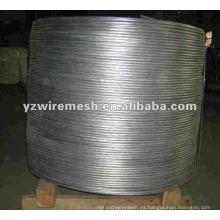 Materias primas alambre de acero de bajo carbono
