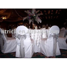 Polyester chair cover,banquet/hotel/wedding chair covers