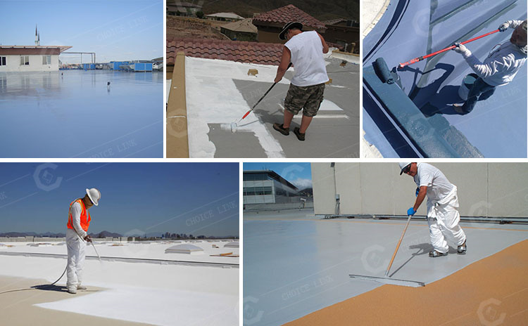 2-25 polyurethane waterproofing coating