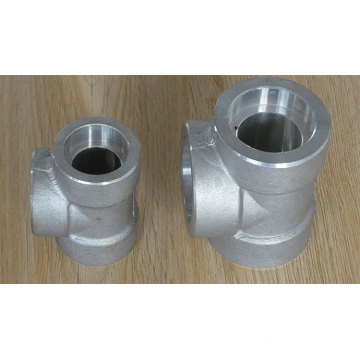 Stainless steel Socket weld Pipe Tee