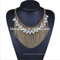 2017 Bride Wedding Necklaces Jewelry Pearl Charm Collar Choker Necklace