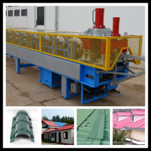 Roof Ridge Cap Tile Parts Roll Forming Machine