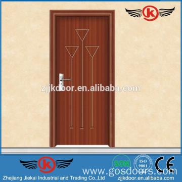 JK-P9013 bedroom door designs/pvc bathroom plastic door/pvc folding ...