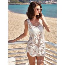 New productsdress women 2017 white beach dress lace beach dress