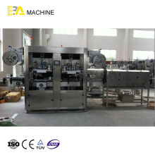 Automatische Doppelkopf-Hülsen-Etikettiermaschine
