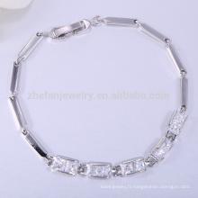 Mode bijoux en argent bangkok jaune chaîne en or bracelet modèles