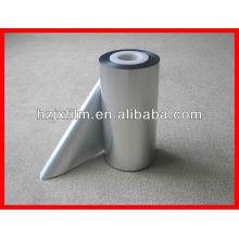 Película de liberación metalizada de poliéster de plata