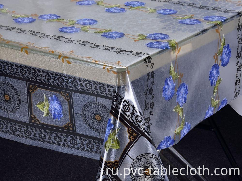 Pvc Printed Tablecloth