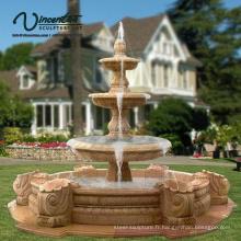 2018 Nouvelle pierre de fontaine de marbre de jardin sculpté (service fait sur commande)