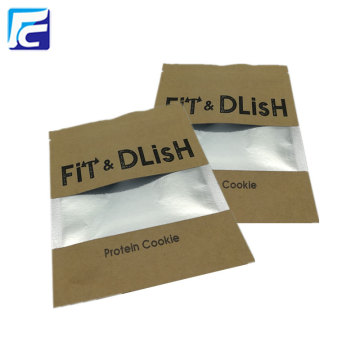 Customized eco-friendly small three side seal bags