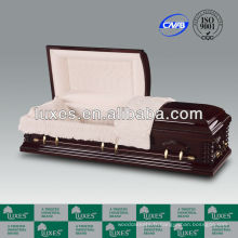 Meilleurs souhaits funéraires cercueil avec doublure de cercueil