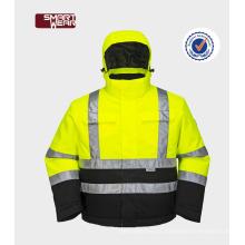 Alta visibilidade reflexiva segurança trabalho 3m reflexiva segurança jaqueta
