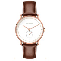 Stylish rose gold japan miyota 30m water resistant men watches