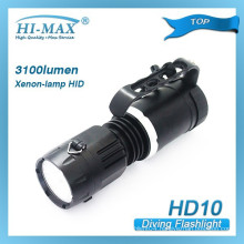 Highest quality wholesale price 3100 lumens underwater deep dive hot-deals ultra-cheap hid torch