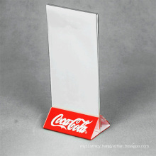 A5 Menu Angled Counter Poster Display Stand
