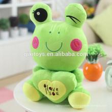Heißer Verkauf Lustige Kleine Frosch Puppe Stofftiere Großhandel