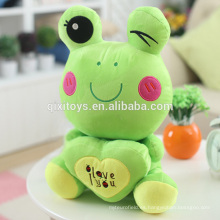 Venta caliente Funny Small Rana Doll Soft Toys Wholesale