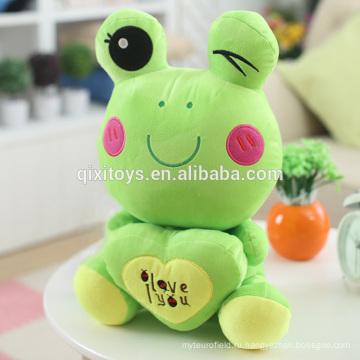 Горячая Распродажа Забавный Маленький Лягушонок Кукла Мягкие Игрушки Оптом