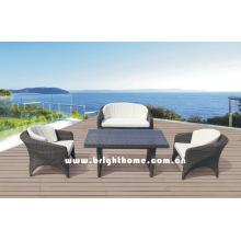 2016 Novo Design Sofá Set Outdoor Mobiliário Bp-420d
