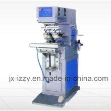 Máquina de impressão de almofada de cor dupla com placa Shuttle