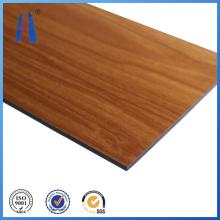 Fabricante profissional ACP de painel de madeira em alumínio composto