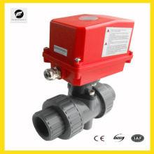 5 дюймовый электрический шариковый клапан 220В/50Гц ПВХ из нержавеющей стали 1,6 МПа