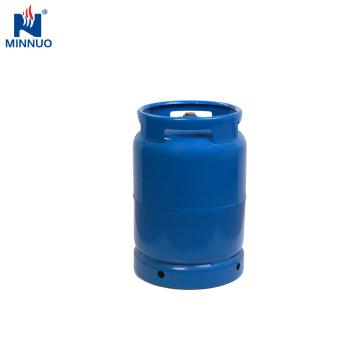 Tanque de amostragem do cilindro do lpg do BBQ 10kg para a coleção do gás com válvula