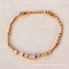 Xuping Rose Gold Color Bracelet