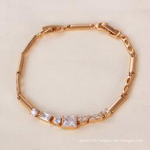 Xuping Rose Gold Color Bracelet