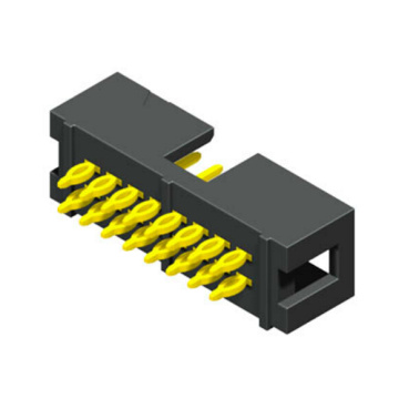2,54 mm Box Header Connectors Gerade