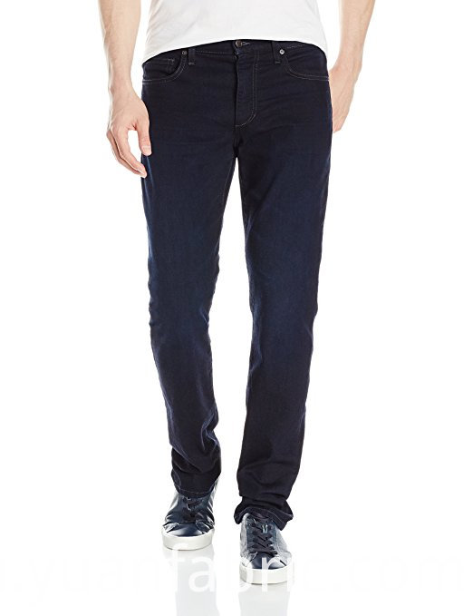 522men S Blended Denim Elastic