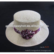 ladies women straw boater hats for sale wholesale to decorate