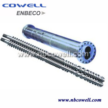 Twin Screw Barrel for PVC Processing